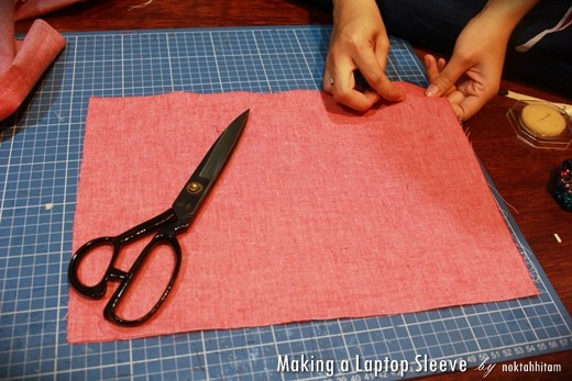 Tutorial: How To Make a Reversible Laptop Sleeve 2