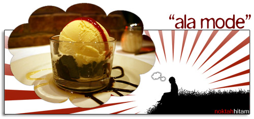 ala mode ice cream