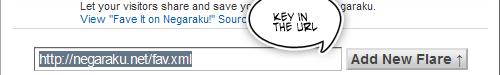Key In URL