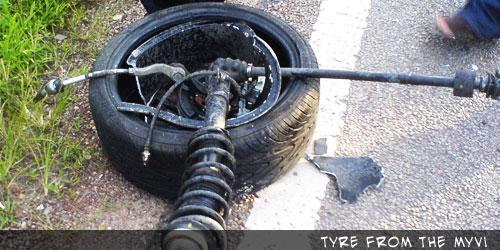 MyVi Frontal Tyre