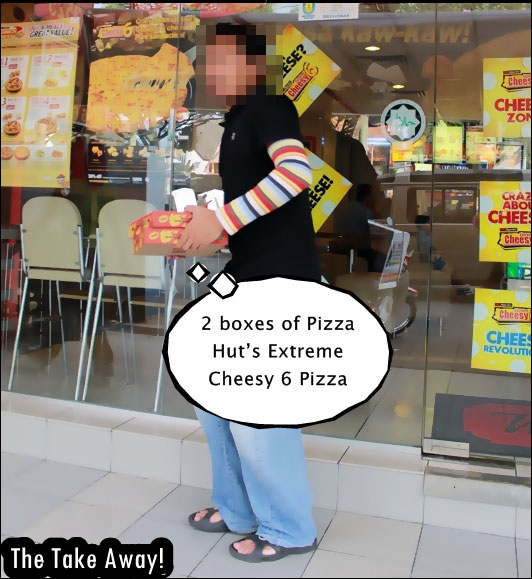 Extreme Cheesy 6 Pizza
