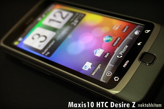 A Day in the Life of the HTC Desire Z 10