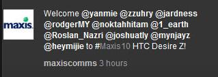 NoktahHitam Gets #Maxis10 1