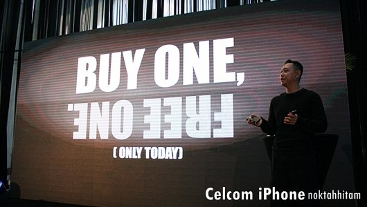 Celcom iPhone Launch