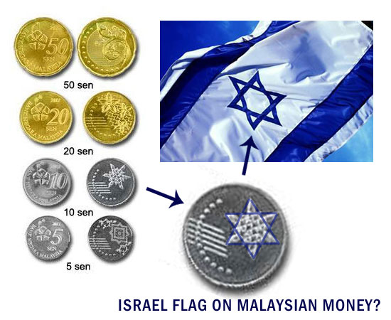 Israel Flag on Malaysian Coin? 1