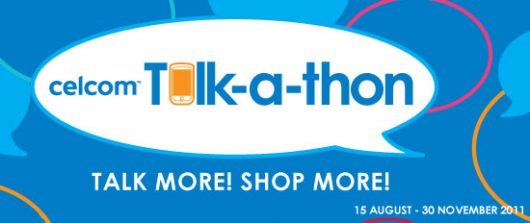 SP: Shopping Spree by Celcom Talk-a-Thon 1