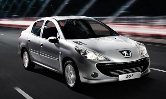 The Peugeot 207 Sales Girl