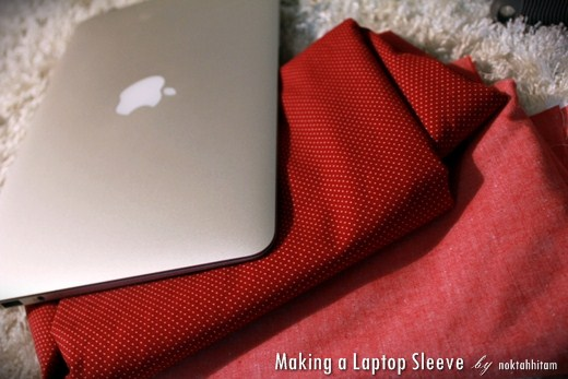 Tutorial: How To Make a Reversible Laptop Sleeve 1