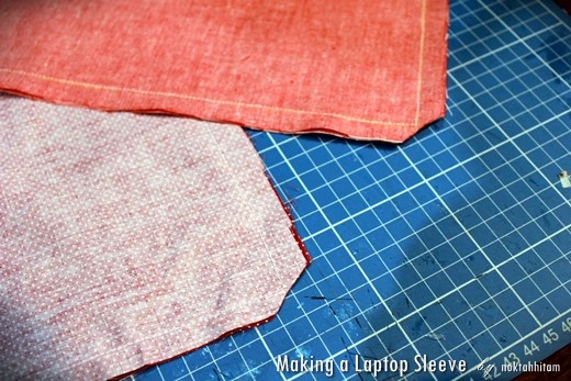 Tutorial: How To Make a Reversible Laptop Sleeve 4
