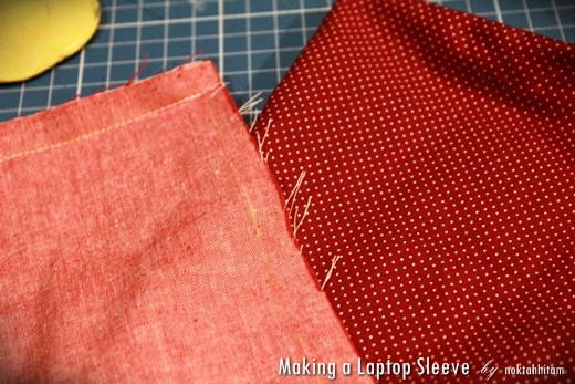 Tutorial: How To Make a Reversible Laptop Sleeve 5
