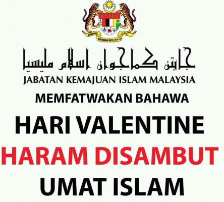 Sambutan Hari Valentine Adalah Haram!