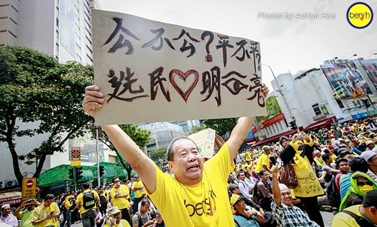 Bersih 3.0: Pictorial Depiction of the Event 13
