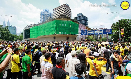 Bersih 3.0: Pictorial Depiction of the Event 14