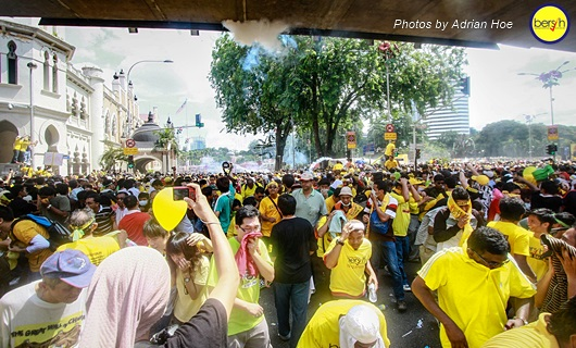 Bersih 3.0: Pictorial Depiction of the Event 19