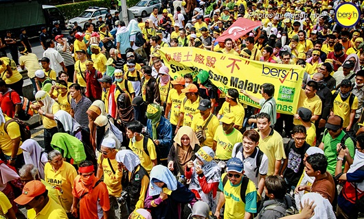 Bersih 3.0: Pictorial Depiction of the Event 11