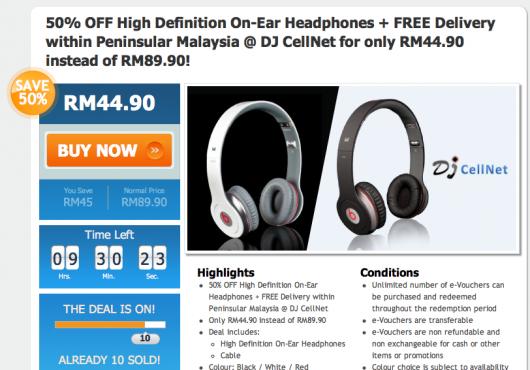 Mydeal.com.my Menjual Headphone Beats Tiruan? 1