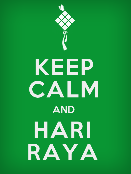 Keep Calm Hari Raya